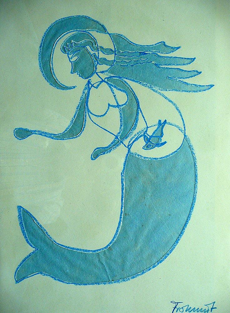 Meermaid, Licht von vorne