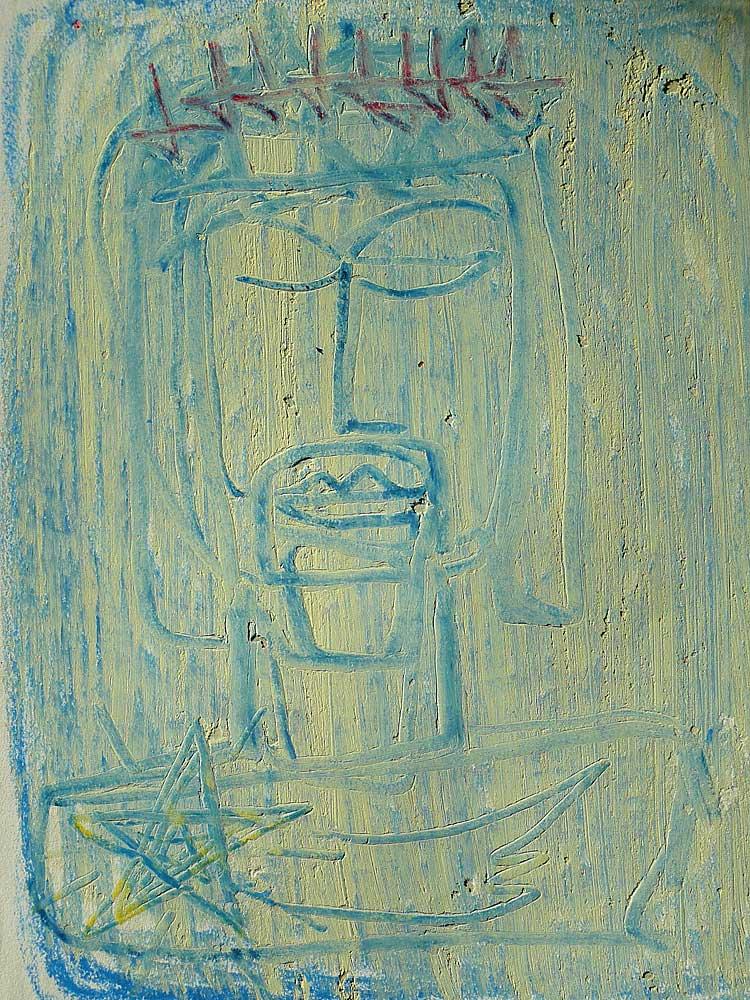 Blauer König