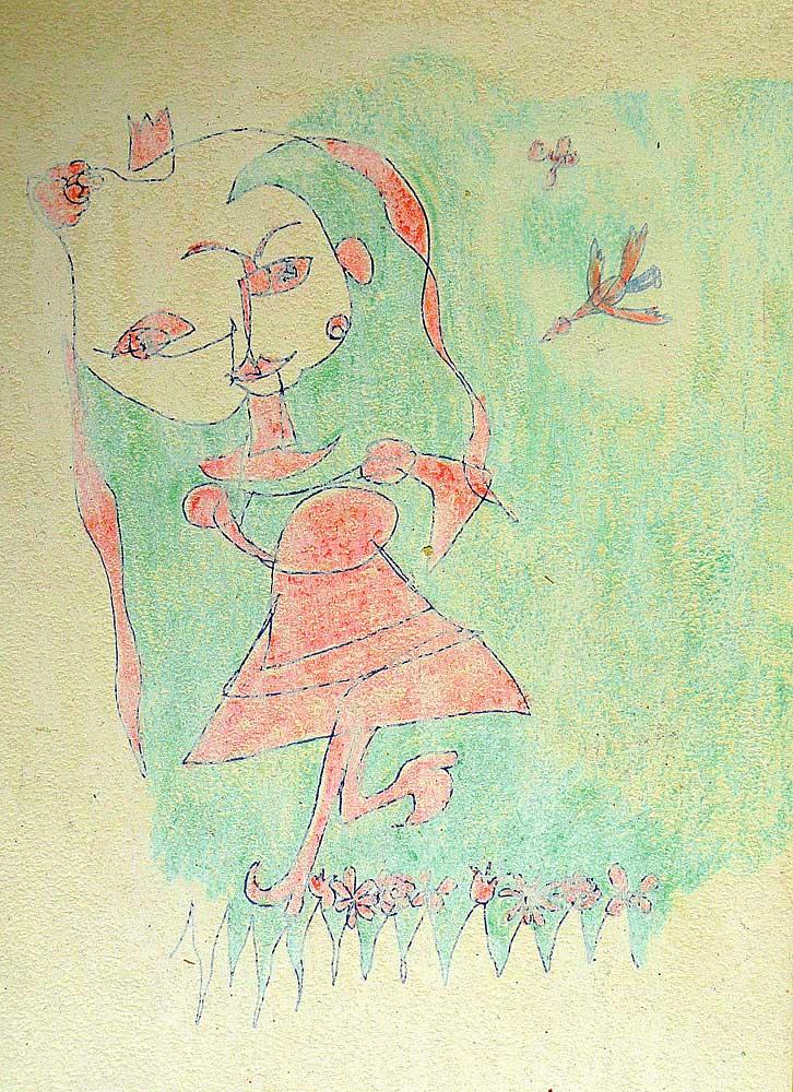Picasso-Mädchen