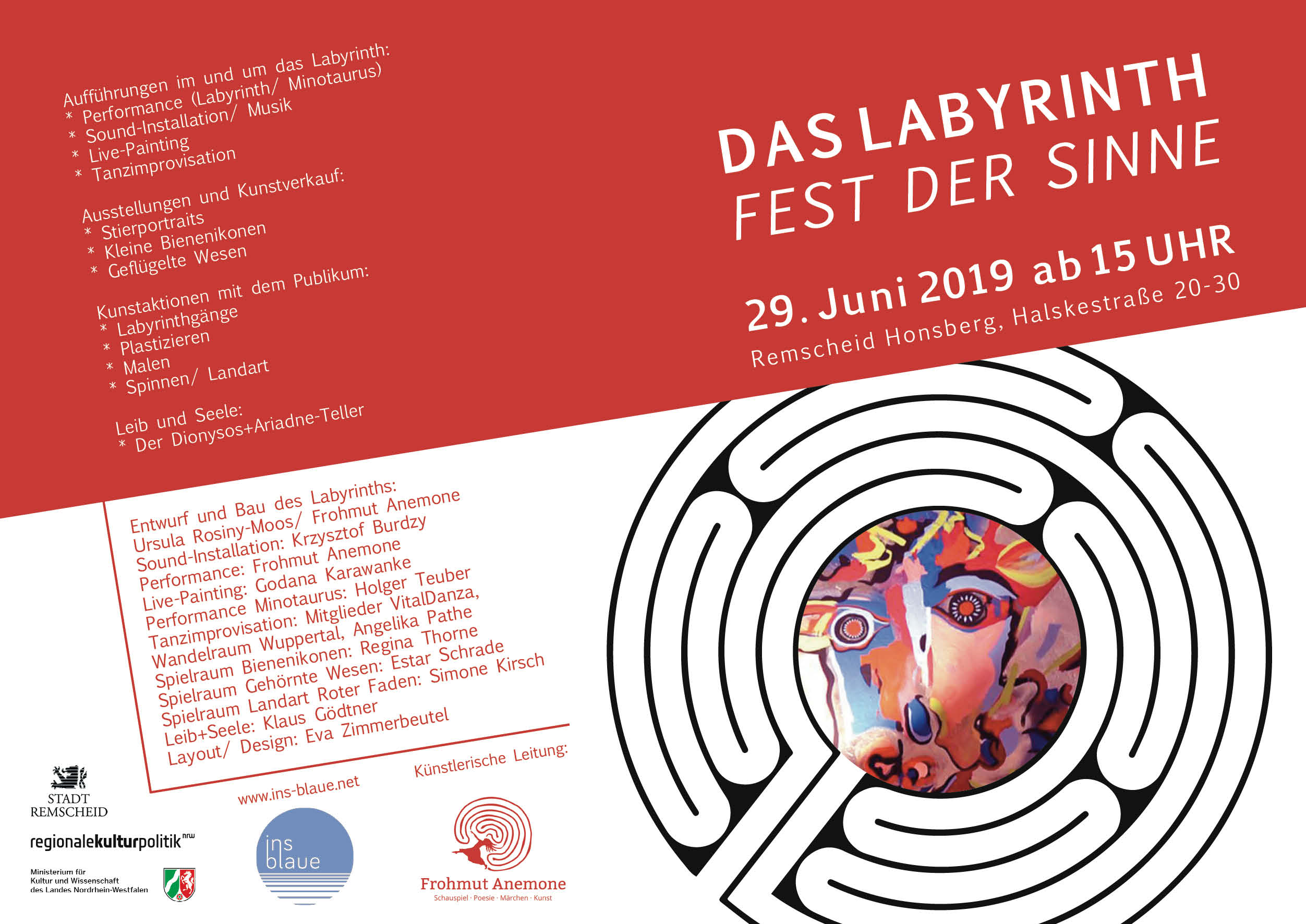 Das Labyrinth -  Flyer