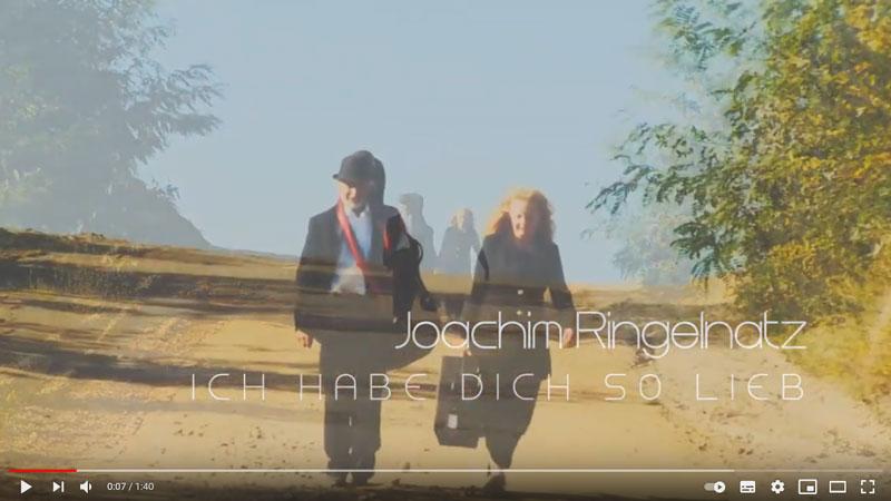 Frohmut Anemone: Joachim Ringelnatz - Ich habe dich so lieb